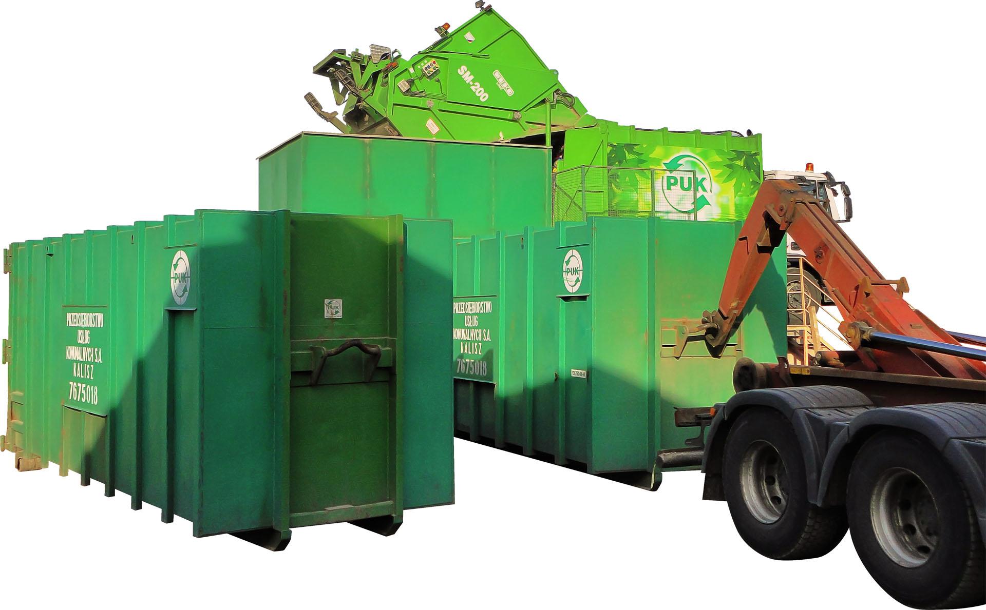 Stație transfer deșeuri 163m3